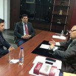 Reunión de trabajo con el fiscal general interino ALEJO VERA