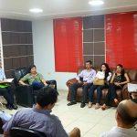 Reunión con docentes