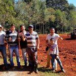 La Municipalidad y la comunidad de Capiivary se unen para realizar trabajo