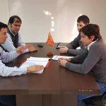 La Municipalidad de San Alberto y la Itaipú Binacional construirá un estadio de primer nivel