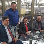 Visita a varias empresas e industrias en Río Grande do Sul.