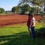Avanza rápidamente la construcción de pista y gradería en el Colegio Nacional Itaipyte.