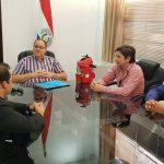 Reunión con el gobernador para tratar el desalojo que se pretende realizar en Sexta Línea.