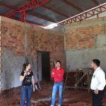 Verificación de obra en Villa Itaipú.