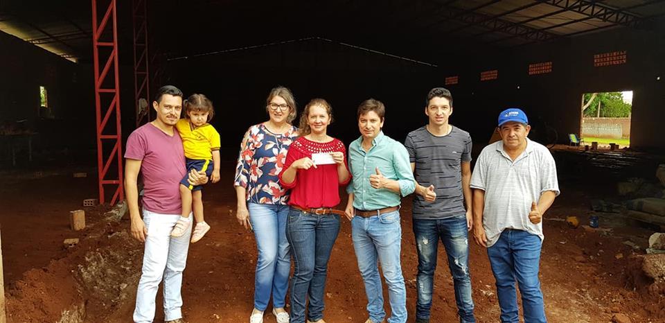 Transferencia para la Comisión de Villa Itaipú para culminación de un salón Multiuso.