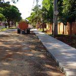 Construcción de veredas inclusivas para peatones en varios lugares del Municipio.