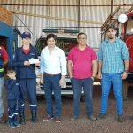 Transferencia al Cuerpo de Bomberos de San Alberto.