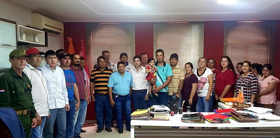 REUNIÓN CON PEQUEÑOS PRODUCTORES DEL MUNICIPIO.