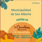 La Municipalidad de San Alberto cocina en La Comilona
