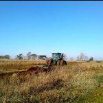 Rastronaje y construcción de estanques a personas de escasos recursos.