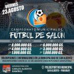 III Campeonato de Fútbol de Salón