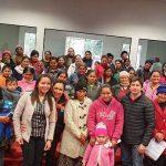 Firma de Acta de Compromiso entre los beneficiarios del Programa TEKOPORÃ